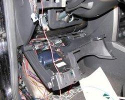 Ставим сигнализацию в Mazda